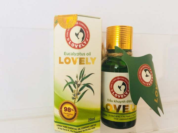 Dầu khuynh diệp lovely new 20ml